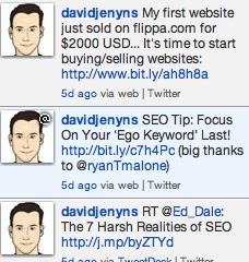 Promoting Website Sales On Twitter