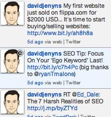 Promoting Website Sales On Twitter