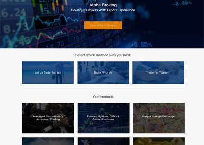 Alpha Broking by Melbourne SEO Services