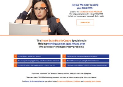 Smart Brain Health Centre by Melbourne SEO Services
