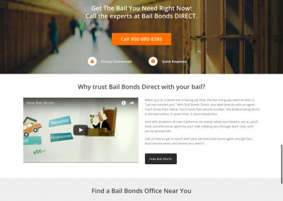 Bail Bonds Direct by Melbourne SEO Services