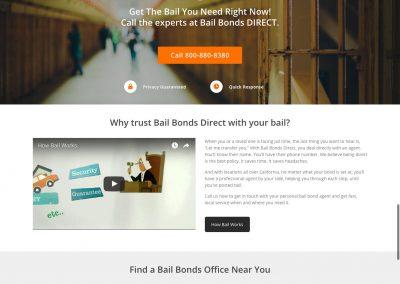 Bail Bonds Direct by Melbourne SEO Services