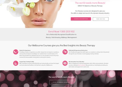 Beauty and Hair Academy by Melbourne SEO Services