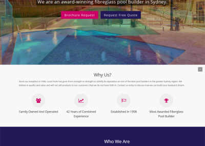 Local Pools by Melbourne SEO Services