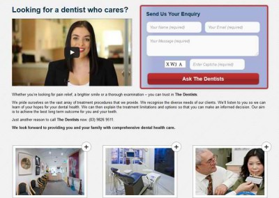 The Dentists by Melbourne SEO Services