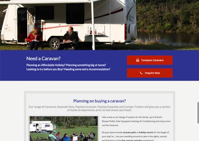 Victorian Caravan Hire by Melbourne SEO Services