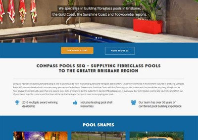 Compass Pools SEQ by Melbourne SEO Services