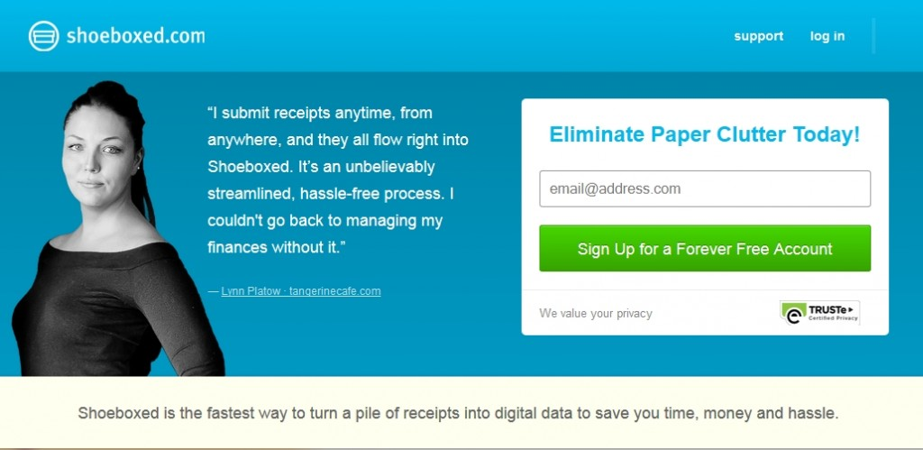 Discover why Melbourne SEO Services uses Shoeboxed for digital filing of important documents.