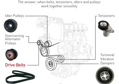 Understanding the Failure of the Accessory Belt Drive System