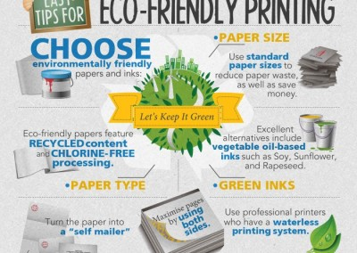 Melbourneseoservices.com Infographics - Easy Tips for Eco-Friendly Printing