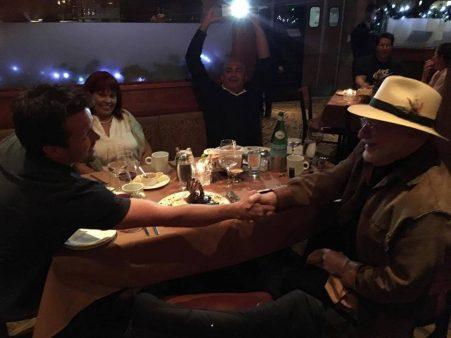 David Jenyns Michael Gerber shaking hands