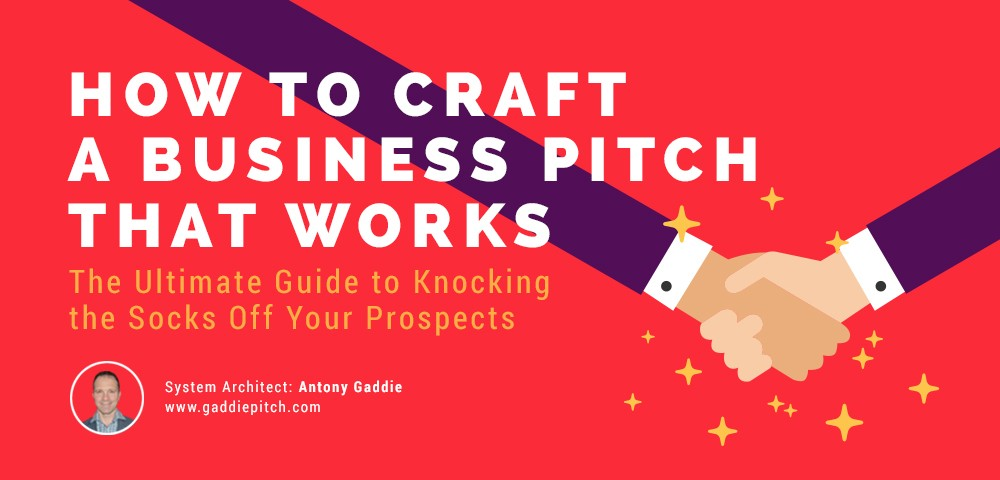 5 Steps to Crafting a Business Pitch That Works