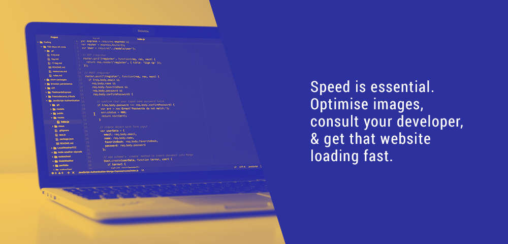 speed is essential to your website