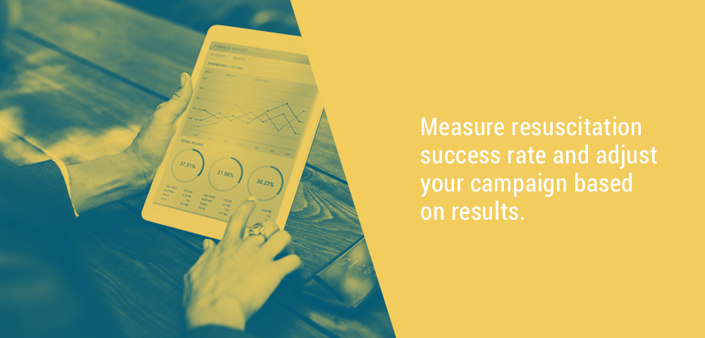 measure dead leads resuscitation success rate