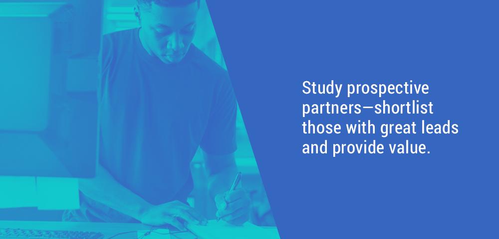 study prospective partners