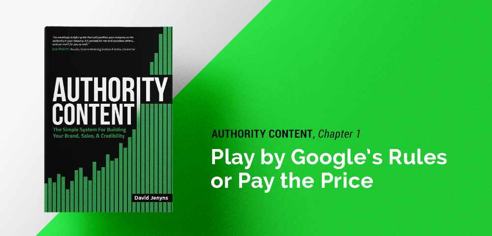 play by Google's rules, or pay the price