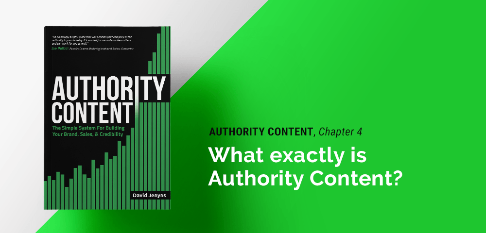 what authority content means