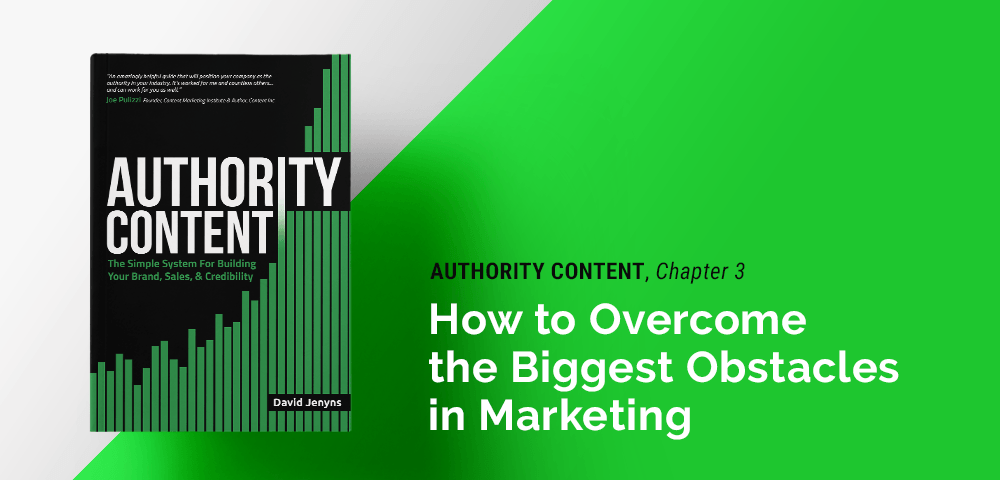 overcoming the biggest obstacles in marketing