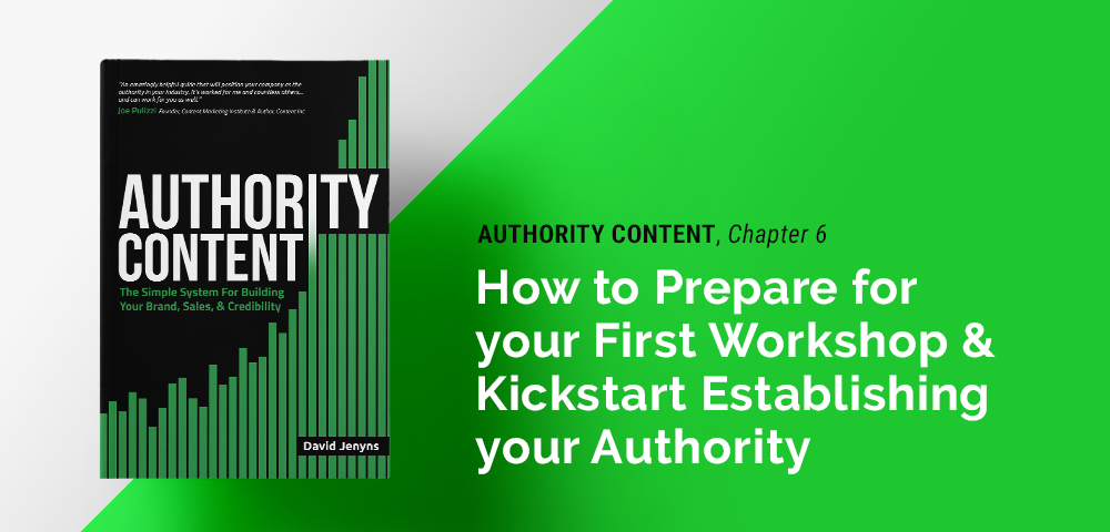 how to prepare for your first workshop and establish your authority