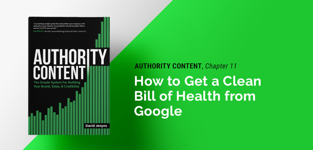 how to get a clean bill of health from Google
