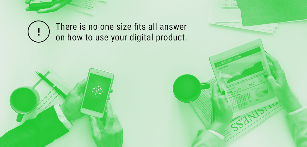 how to use your digital product