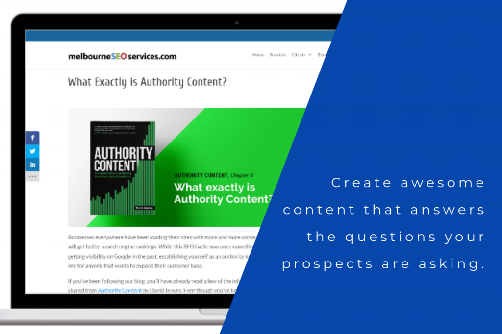 What is Authority Content