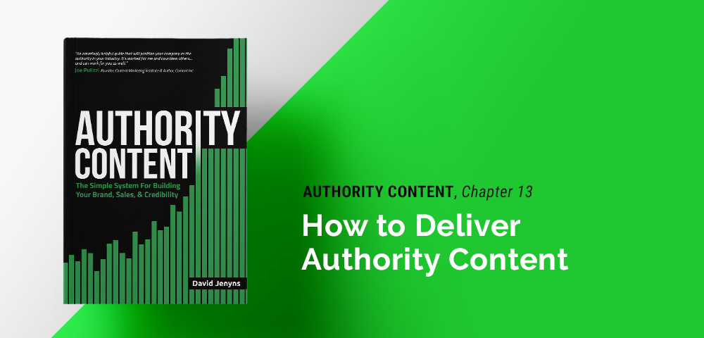 how to deliver authority content