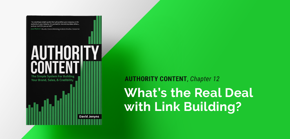the real deal with link building