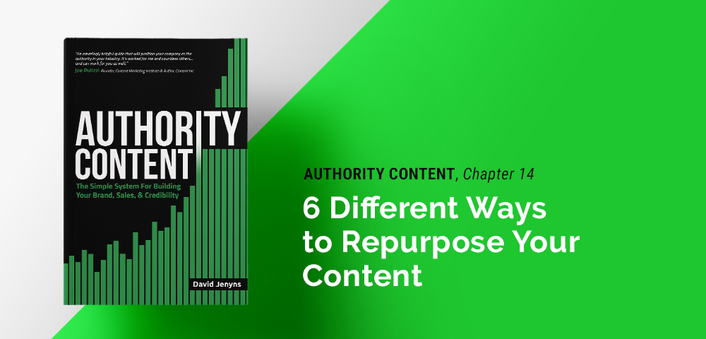six different ways to repurpose your content