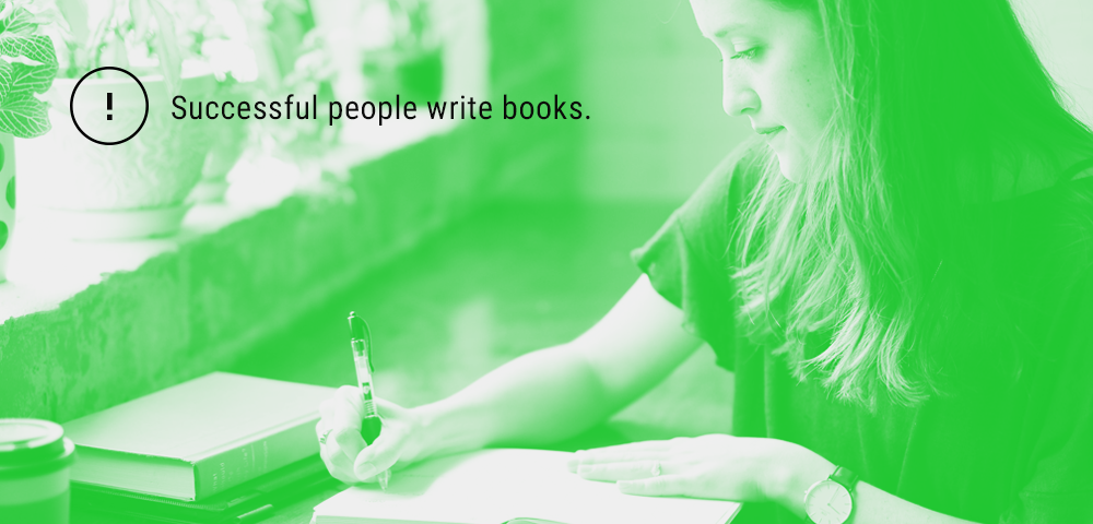 successful people write books