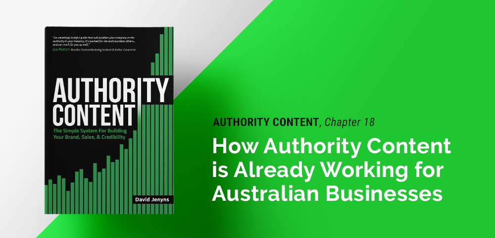Authority Content for  Australian businesses